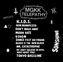 CD MGKK Telepathy - Sunshine